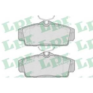 LPR 05P706 Тормозные колодки дисковые