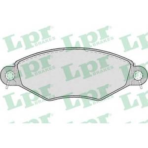 LPR 05P708 Тормозные колодки