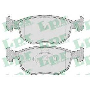Комплект тормозных колодок, дисковый тормоз 05p715 lpr - FORD MONDEO II (BAP) Наклонная задняя часть 2.5 ST 200