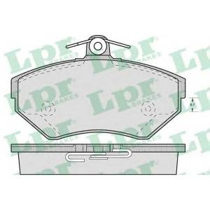 LPR 05P719 Гальмівні колодки, дискові