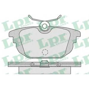05p736 lpr Комплект тормозных колодок, дисковый тормоз FIAT COUPE купе 1.8 16V