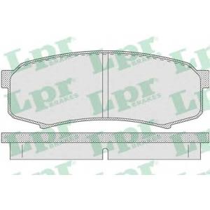LPR 05P749 Тормозные колодки дисковые