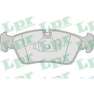 LPR 05P757 Тормозные колодки дисковые