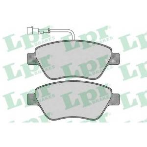 Комплект тормозных колодок, дисковый тормоз 05p763 lpr - LANCIA MUSA (350) вэн 1.4 LPG