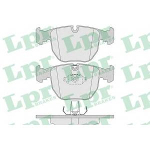 LPR 05P771 Тормозные колодки