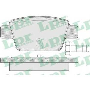 LPR 05P780 Гальмівні колодки, дискові