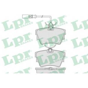 LPR 05P786 Гальмівні колодки, дискові