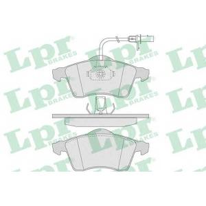 LPR 05P787 Тормозные колодки
