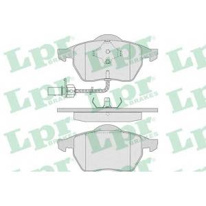 LPR 05P790 Тормозные колодки дисковые