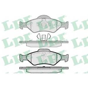 LPR 05P795 Тормозные колодки