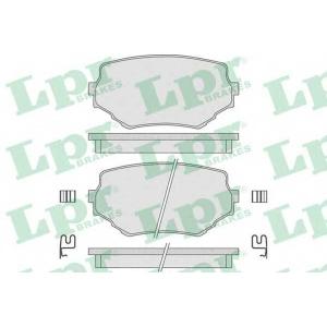 Комплект тормозных колодок, дисковый тормоз 05p798 lpr - SUZUKI GRAND VITARA I (FT, GT) вездеход закрытый 2.5 V6 24V (FT)
