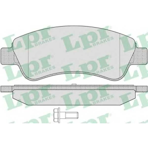 LPR 05P802 Тормозные колодки