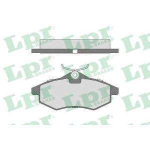 Комплект тормозных колодок, дисковый тормоз 05p805 lpr - CITRO?N C3 (FC_) Наклонная задняя часть 1.1 i