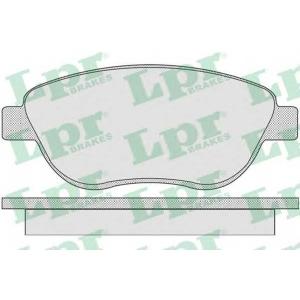 Комплект тормозных колодок, дисковый тормоз 05p807 lpr - CITRO?N XSARA PICASSO (N68) вэн 1.6