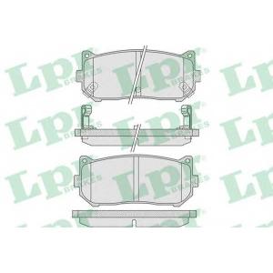 LPR 05P808 Тормозные колодки