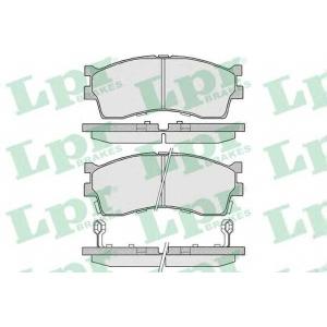 LPR 05P809 Тормозные колодки
