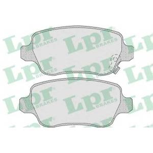 LPR 05P811 Тормозные колодки