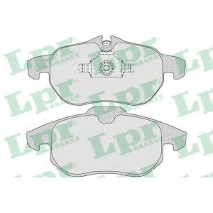LPR 05P814 Тормозные колодки