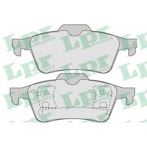 LPR 05P815 Тормозные колодки
