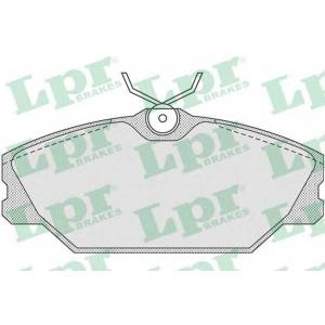 LPR 05P816 Тормозные колодки