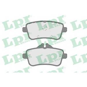LPR 05P817 Тормозные колодки дисковые