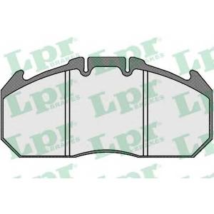 LPR 05P823 Brake Pad