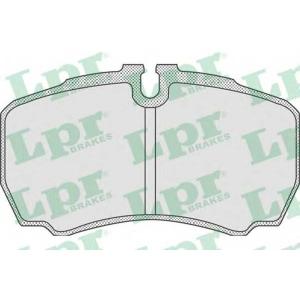 LPR 05P830 Тормозные колодки