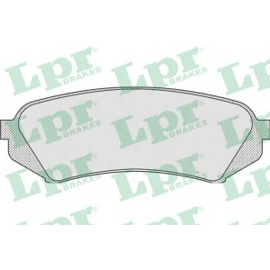 LPR 05P835 Тормозные колодки