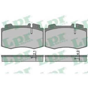 LPR 05P849 Тормозные колодки дисковые