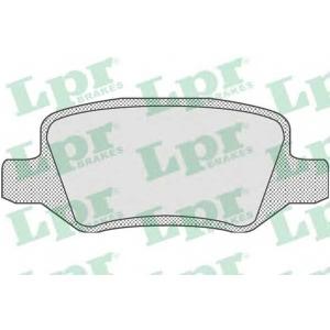 LPR 05P850 Тормозные колодки дисковые