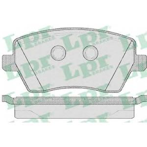 LPR 05P867 Тормозные колодки