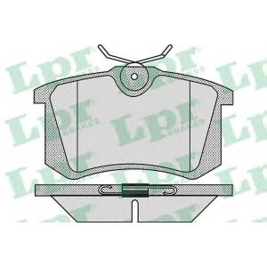 LPR 05P868 Тормозные колодки