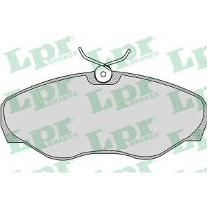 LPR 05P869 Тормозные колодки