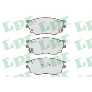 LPR 05P877 Тормозные колодки