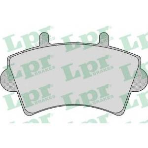LPR 05P884 Тормозные колодки