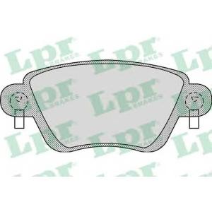 LPR 05P897 Тормозные колодки дисковые