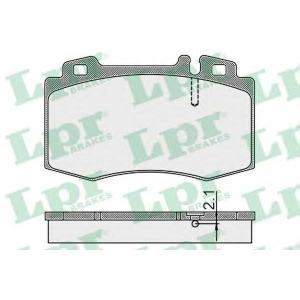 LPR 05P899 Тормозные колодки