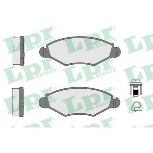 LPR 05P903 Тормозные колодки