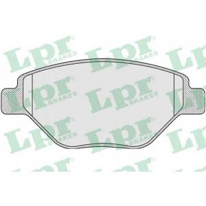 LPR 05P910 Тормозные колодки