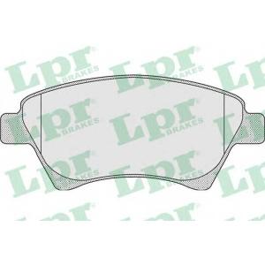 LPR 05P911 Тормозные колодки