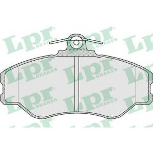 LPR 05P920 Комплект тормозных колодок, дисковый тормоз Хюндай Портер