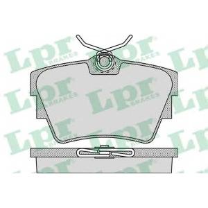 LPR 05P946 Тормозные колодки дисковые