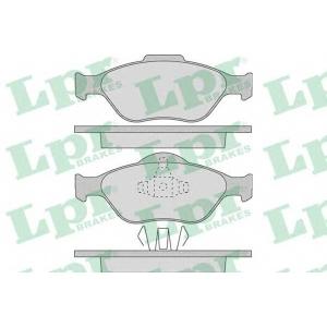 LPR 05P949 Тормозные колодки дисковые