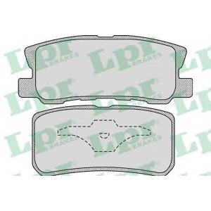 LPR 05P954 Тормозные колодки
