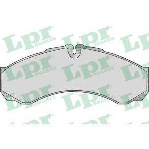 LPR 05P955 Тормозные колодки