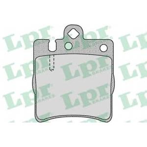 LPR 05P957 Тормозные колодки