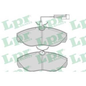 LPR 05P965 Тормозные колодки