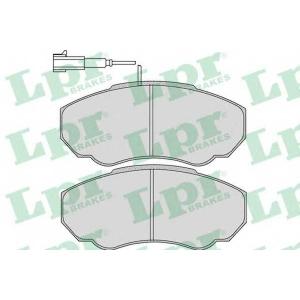 LPR 05P966 Тормозные колодки дисковые