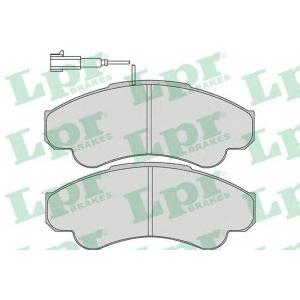 LPR 05P967 Тормозные колодки дисковые