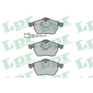 LPR 05P969 Тормозные колодки дисковые